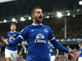 Schneiderlin to miss Merseyside derby and Manchester United trip. Everton
