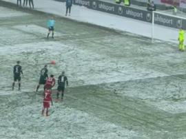 Moritz marcó el 3-2. Captura