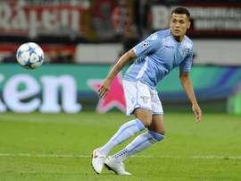 Morrison, en un partido con la Lazio. Twitter
