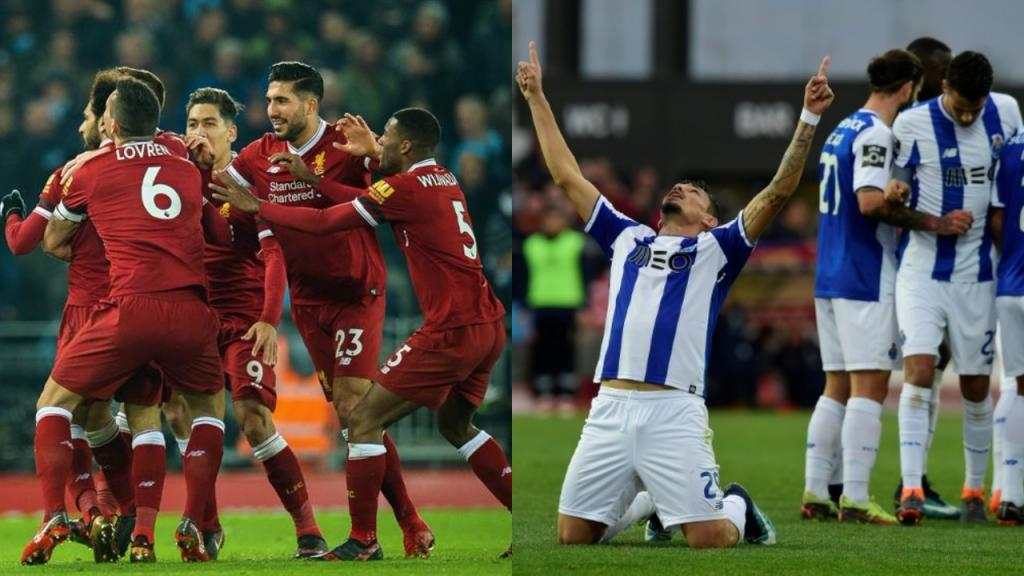 EN VIVO, Ida Octavos de final, Champions League — Porto vs Liverpool