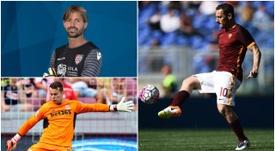 Given, Totti y Storari son algunos de los jugadores más veteranos de Europa, . BeSoccer