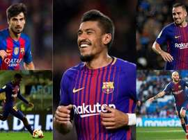 The five players in contention. BeSoccer
