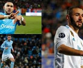 Benzema, Payet y Laporte, algunos de los protagonistas. BeSoccer