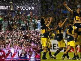 Boca, Atlético Nacional y River, entre los campeones más destacados. BeSoccer