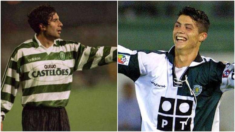 Cristiano Ronaldo y Figo se formaron en el Sporting de Lisboa. BeSoccer
