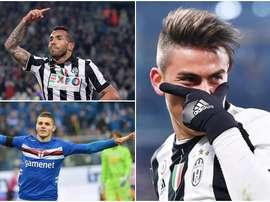 Estes três atacantes argentinos formam parte desta lista. BeSoccer