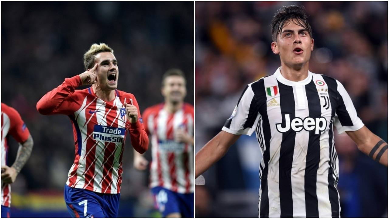Image result for dybala and griezmann