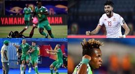 Assim serão as semifinais da Copa da África 2019. Montagem/BeSoccer