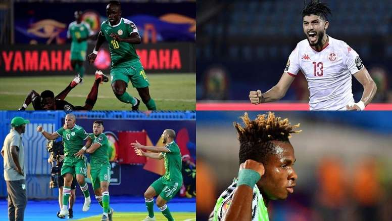 Estas son las semifinales de la Copa África 2019. Montaje/BeSoccer