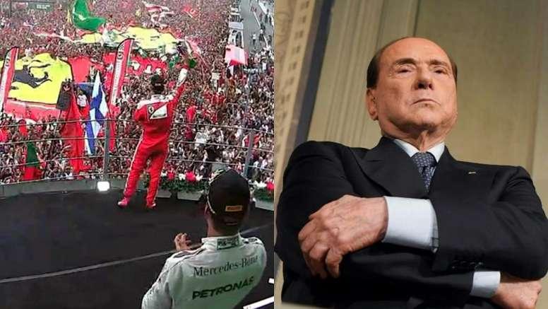 Berlusconi quiere llevar al Monza a la Serie A. AFP/MovistarF1