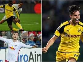 Estos son tres de los siete futbolistas jóvenes que sigue el conjunto azulgrana. BeSoccer