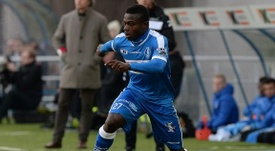Moses Simon currently plays for Belgian side Gent. KAAGent