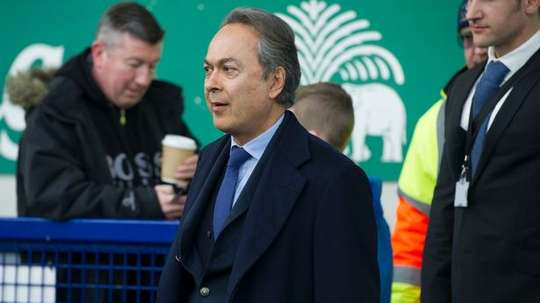 Moshiri pictured at Goodison Park. AFP
