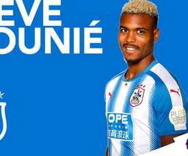 Mounié est un des nouveaux joueurs d'Huddersfield. HTAFC