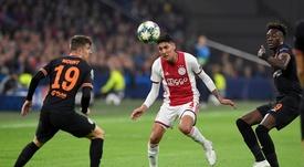 Edson Álvarez busca minutos en Holanda. Twitter/AFCAjax
