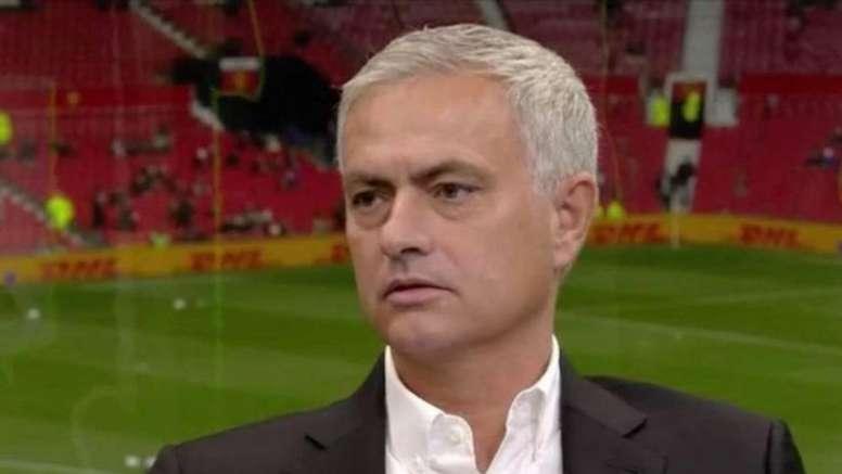 Mourinho le lanzó un dardo a Klopp. Captura/SkySports