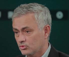 José Mourinho is desperate for a return to football. Captura/RT