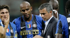 Maicon fez com que Mourinho adiasse a hora dos treinamentos. Inter-News