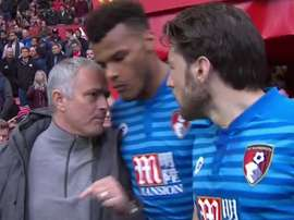 Mourinho was also unhappy with Mings' action. Twitter