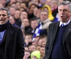 Mourinho will not respect social distancing for Tottenham's game with Everton. AFP