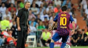 A Inter sonhou com Messi. AFP