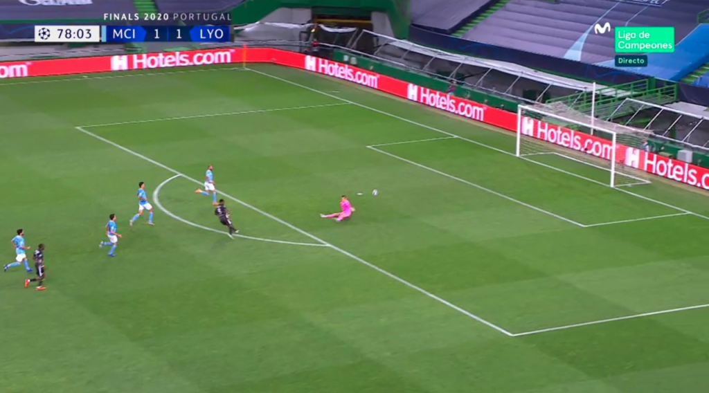 Dembélé hizo el 1-2
