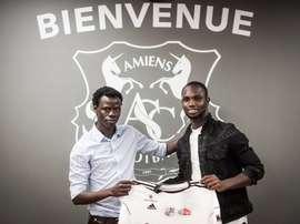 El senegalés firmó por cuatro temporadas. AmiensSC