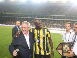 Moussa Sow regresa al Fenerbahce tras su paso por el Al-Ahli. alahliclub.ae