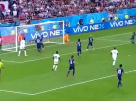 Wague put Senegal back in front. Captura