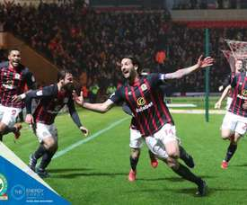 Mulgrew scored the all-important goal for Blackburn. Twitter/Rovers