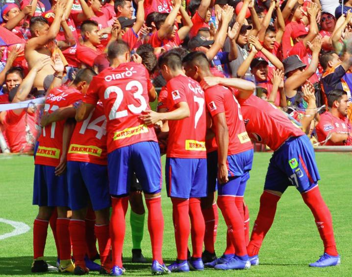 Municipal golpea primero antes de la final. Twitter/Rojos_Municipal