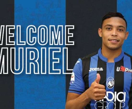 Muriel has signed for Atalanta. Atalanta