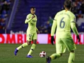 Murillo pourrait être titulaire. FCBarcelone