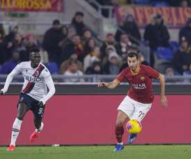 Roma must decide must to do with both players. Twitter/OfficialASRoma
