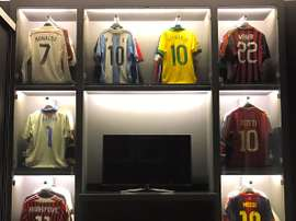 El Shaarawy's shirt collection. Twitter