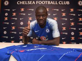 Kanté segue sendo 'blue'. ChelseaFC