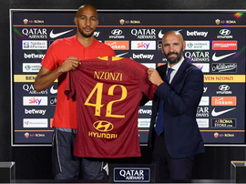 Steven N'Zonzi finally completed a move to Roma. ASRoma