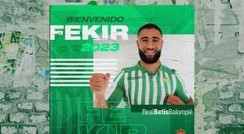 Fekir é o novo reforço do Real Bétis. RealBetis