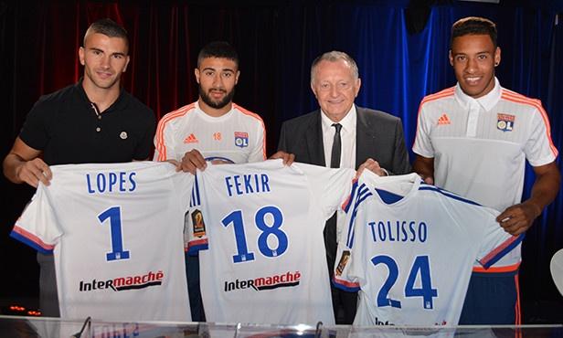 El Olympique de Lyon renueva a sus jóvenes promesas. OL.