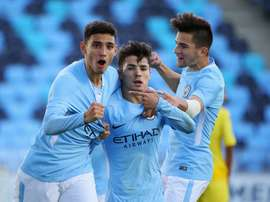 Man City have added another star to their youth ranks. AFP