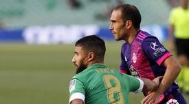 Nacho se lamentó por el penalti que supuso el 1-0. LaLiga