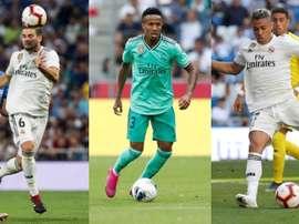 Militão, Nacho e Mariano poderão estrear pelo Real Madrid contra o Levante. EFE/RealMadrid