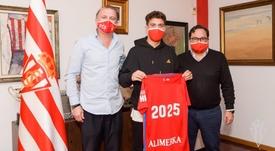 Nacho Méndez, renovado hasta 2025. Twitter/RealSporting