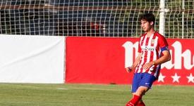 Nacho probará suerte en el filial del Deportivo. ClubAtléticodeMadrid