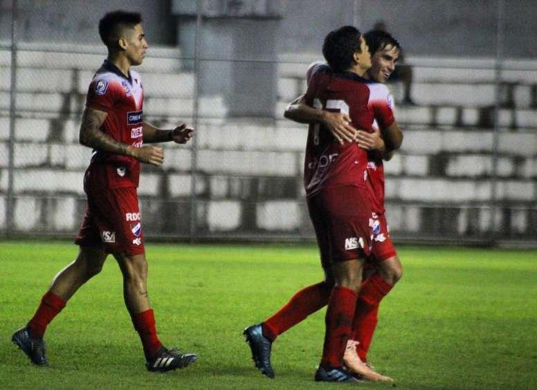 Nacional logró el empate con gol de Franco a 25 minutos del final. Twitter/clubnacionalpy
