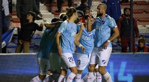 Nacional se impuso a Racing de Montevideo por 3-0. Twitter/Nacional