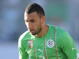 El argelino Nadir Belhadj, ex jugador del Al-Sadd, ha firmado contrato con el Sedan. AFP