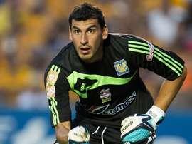 Le gardien de Tigres remplace Romero. EFE/EPA