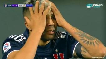 Universidad de Chile se quedó sin la victoria. Captura/TNTSportsCL