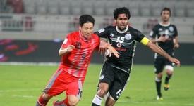 Nam Tae-Hee logró un precioso gol en el partido ante el Al Fateh. QSL